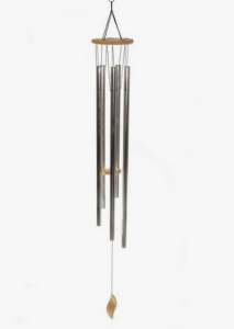 Metal Wind Chime. Photo: Pinterest/Anne Momo