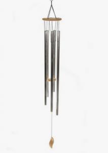 Metal Wind Chime. Photo: Pinterest/Anne Momo