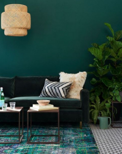 Wood Element - Green Wallk. Photo: Pinterest/Blog Lovin