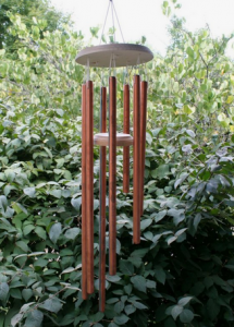 Metal Wind Chime. Photo: Pinterest/Chica and Jo