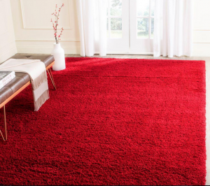 Fire Element - Red Rug