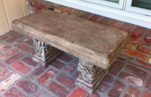 Earth Element - Stone Bench.