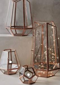 Metal Element - Metal Home Decor. Photo: Pinterest/Style Me Pretty