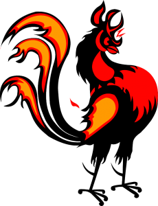 2017 Year of the Fire Rooster.